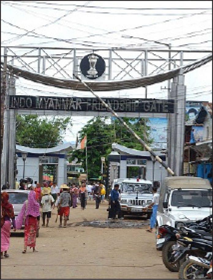 India Myanmar Imphal