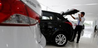 Auto market yangon car
