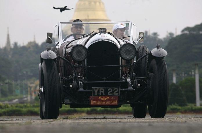 Burma Classic cars