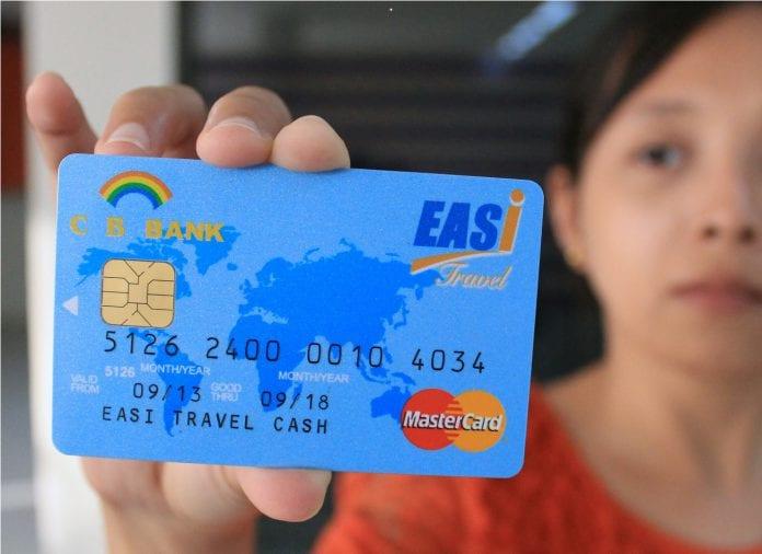 CB Bank MasterCard a