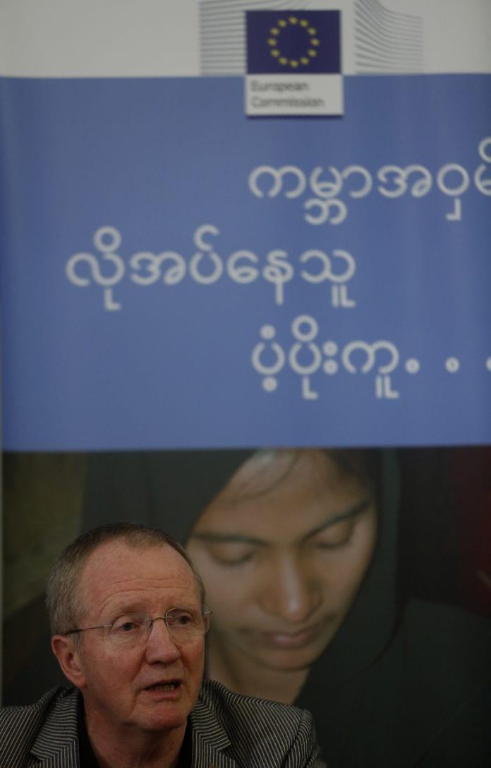 Claus sorensen EU myanmar aid