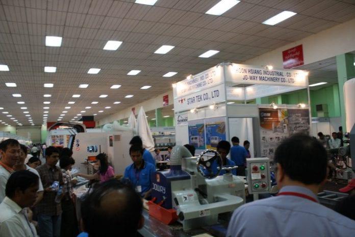 Myanmar Industrial fair