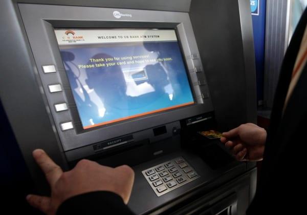 Myanmar bank atm mastercard visa kbz