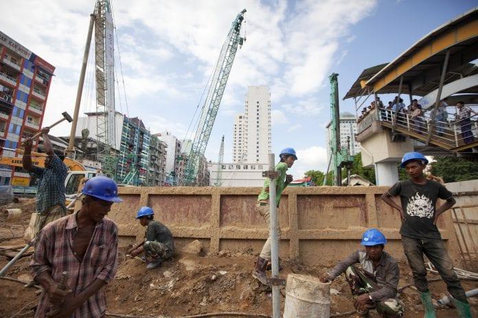 Myanmar economy real estate property construction