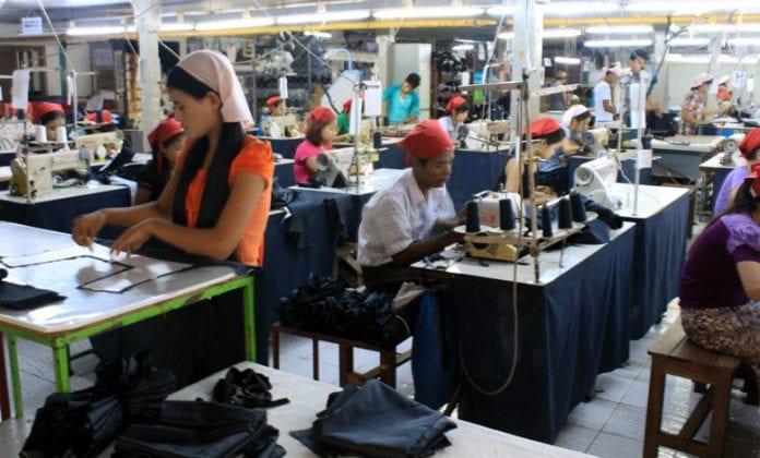 Myanmar garment factory economy SME