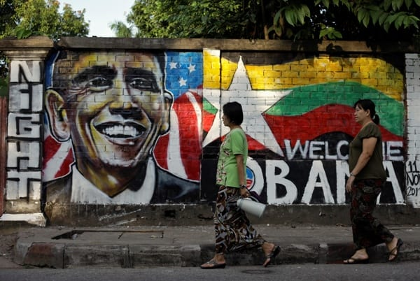 barack obama myanmar visit