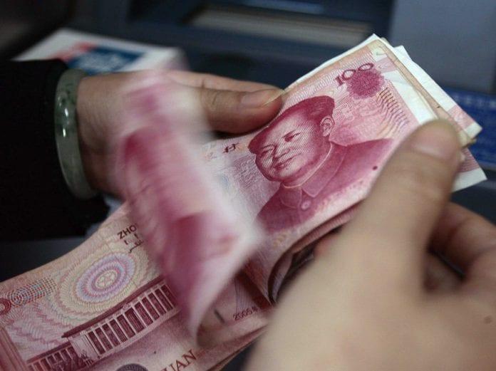 china money won reuters