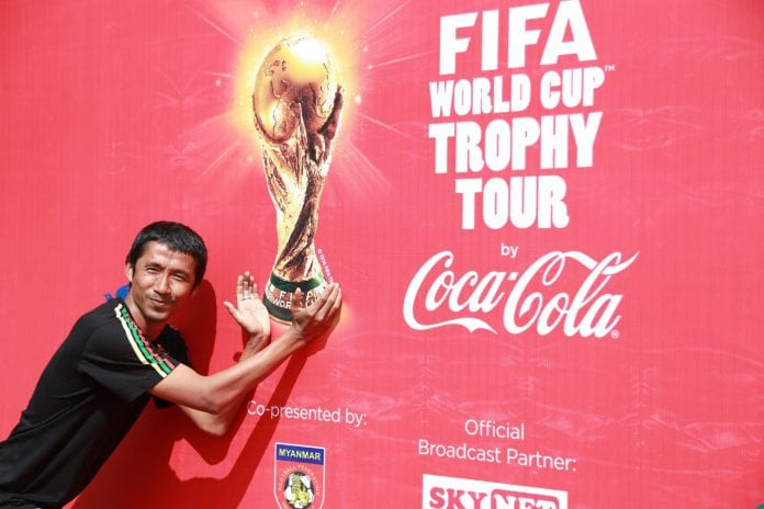 FIFA World Cup Trophy Tour Myanmar 4_Credit to Coca-Cola Myanmar