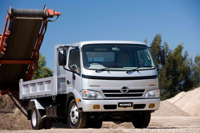 hino 300 series truck