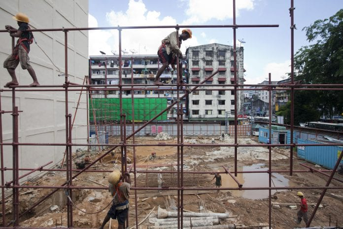 yangon property skyline economy development construction (3)