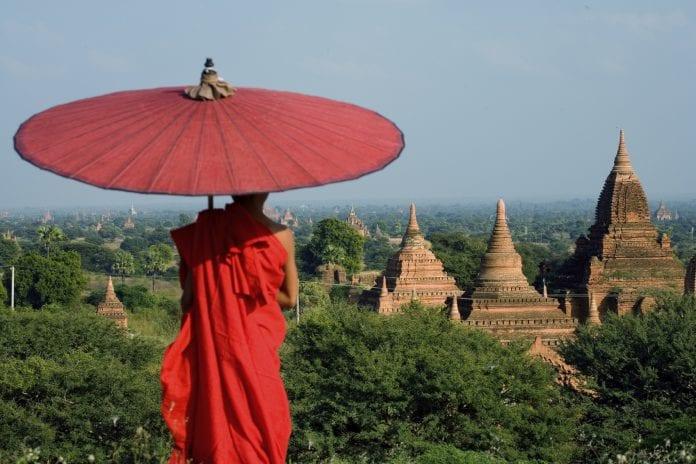 Monk Bagan Backyard Travel