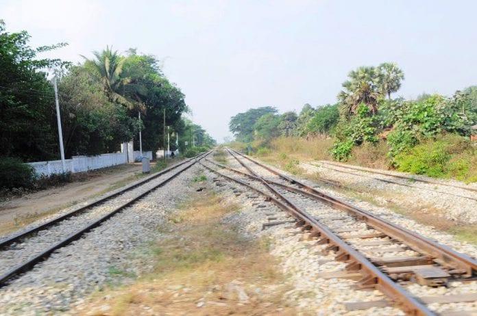 Yangon-Mandalay railway