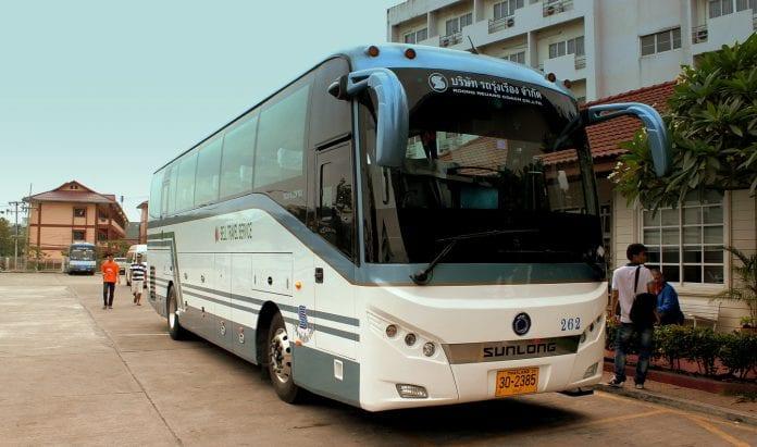 bus thailand a