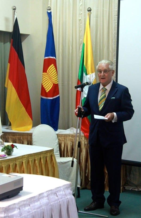 german ambassador Chirstian Webber Lorstch