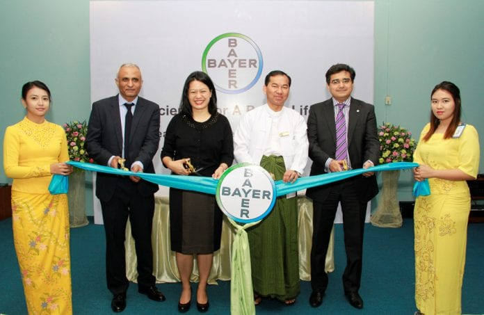 Bayer Ribbon Cutting RELEASE