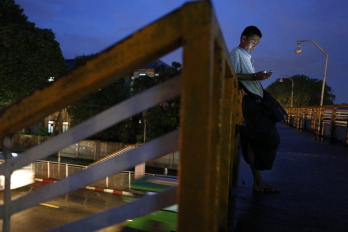 Myanmar phone telecom licence Ooredoo Telenor