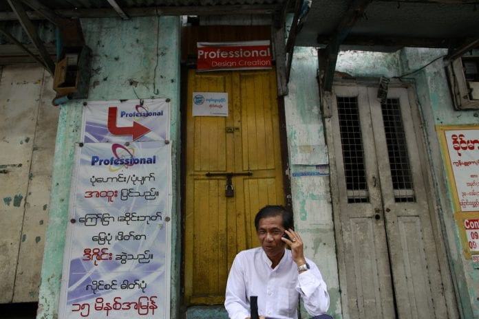 Myanmar telecom phone