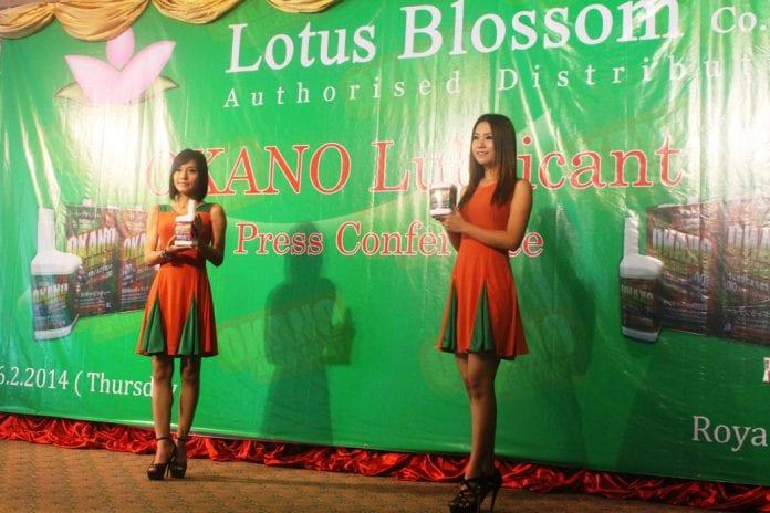 Okano lubricant Japan Myanmar