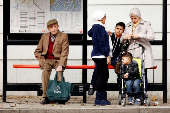 Pension old age UK lonely