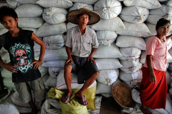 Rice export myanmar
