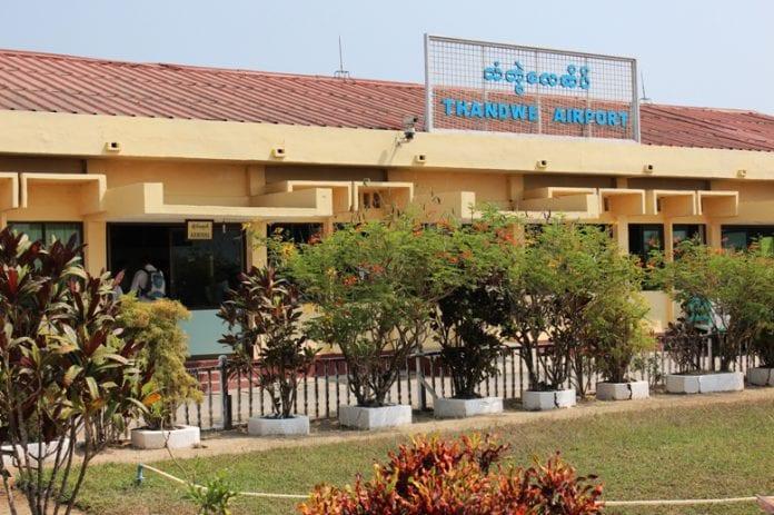 Thandwe airport Sherpa