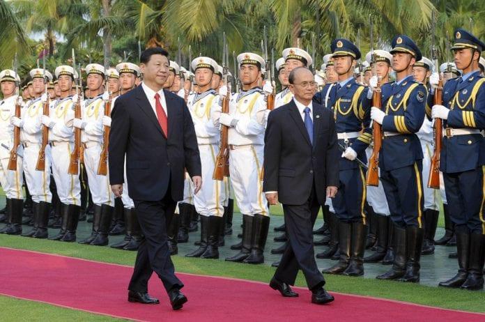 Xinping Thein sein china myanmar