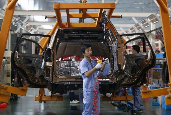 china economy car factory