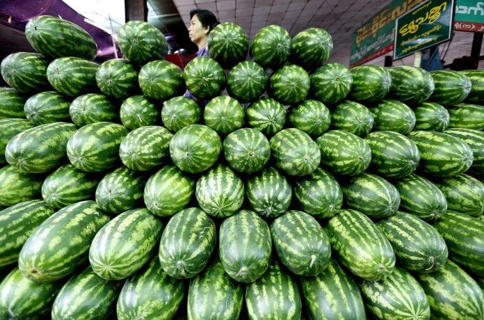 fruit watermelon myanmar