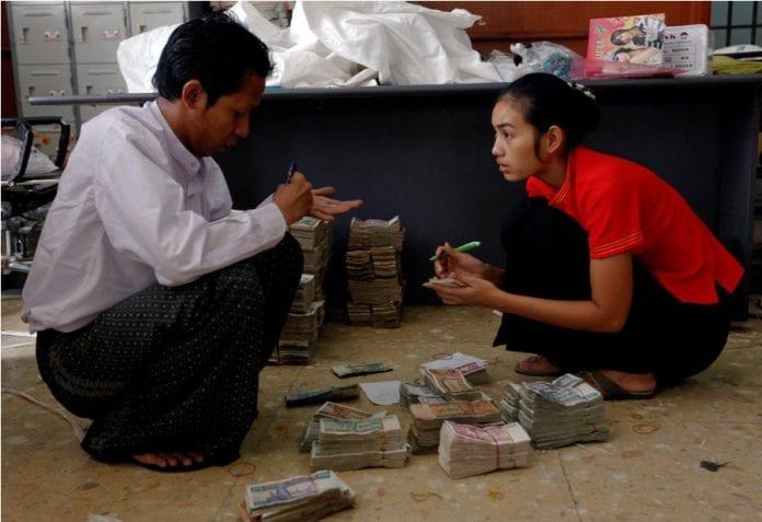 myanmar cash bank card