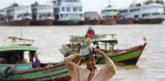 Yangon river