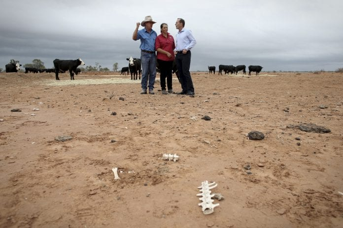 Australi drought Tony Abbott