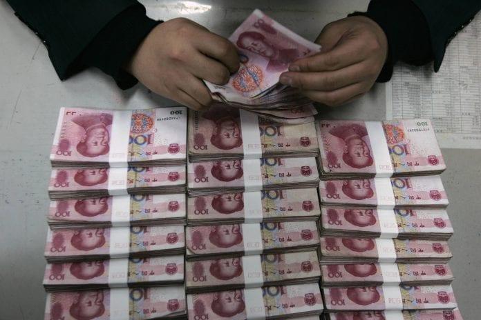 China Yuan count dollar economy