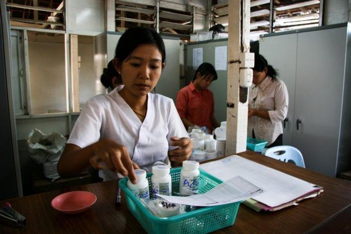 MSF HIV aids myanmar