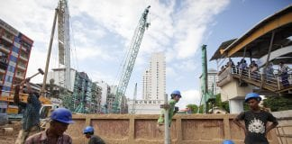 Myanmar economy real estate property construction
