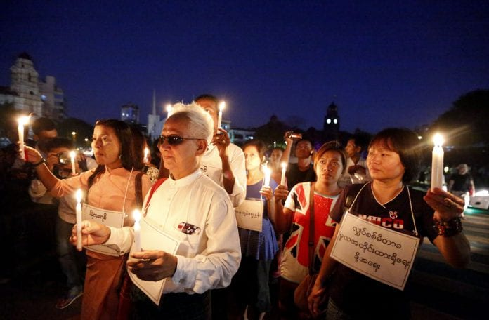 Myanmar electricity protest (3)