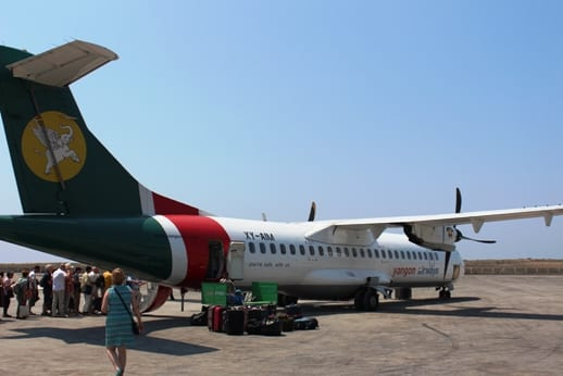 Ngapali Yangon Airways Thandwe Airport Rakhine state Maynmar Tourism