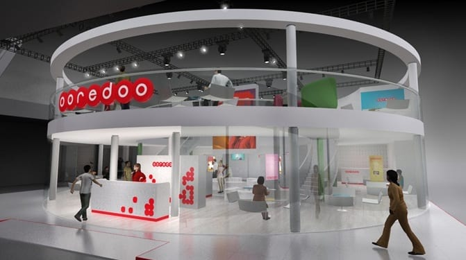 Ooredoo Pavillion world mobile congres