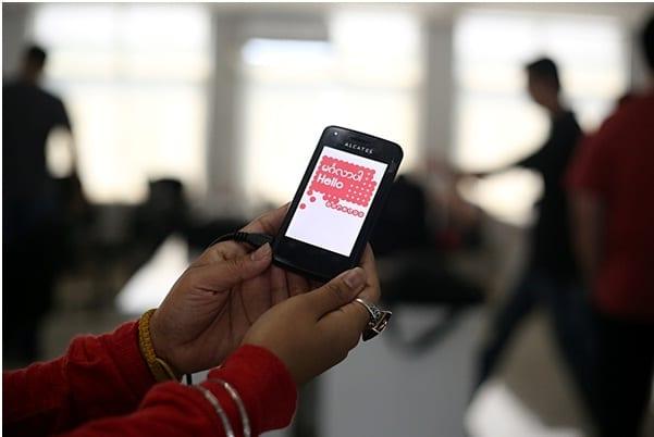 Ooredoo network test Myanmar ICT Telecom mobile handset