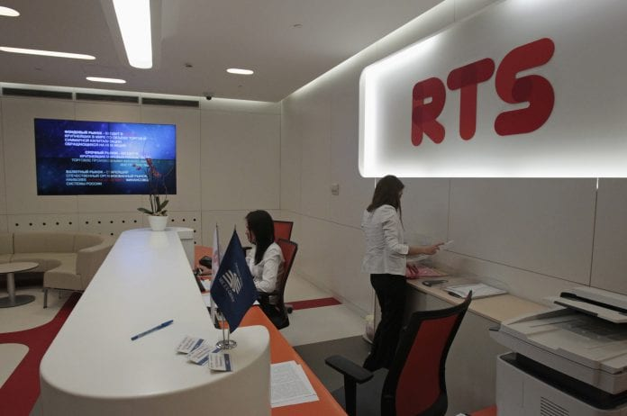 RTS Moscow stock exchange