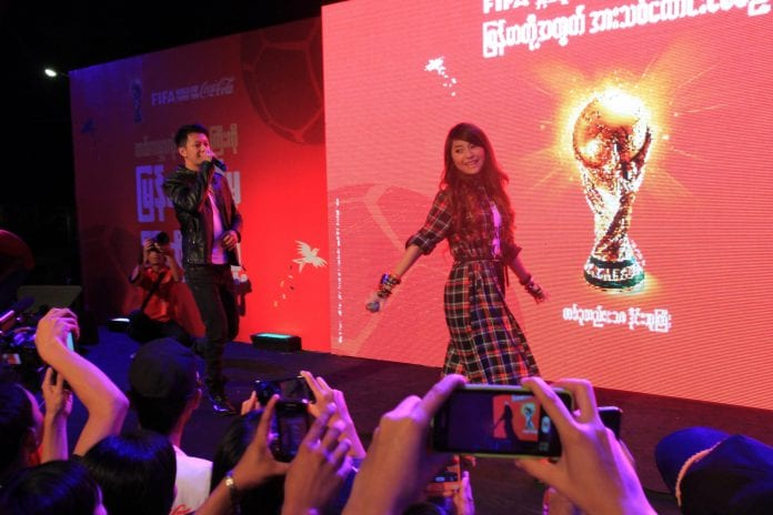 Sai Sai Kham Leng & Bobby Soxer_Credit to Coca-Cola Myanmar