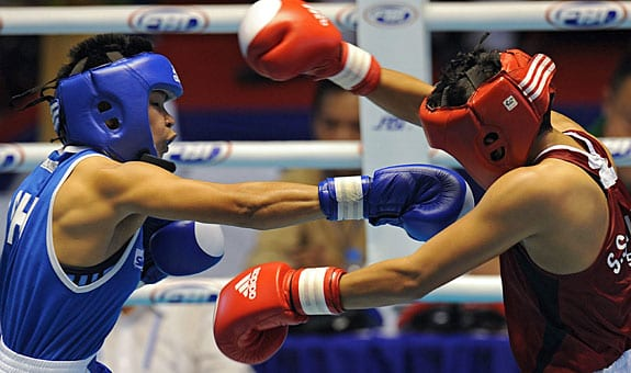 THailand boxing match