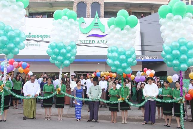 UAB New branch bank myanmar