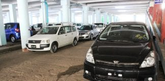 cars at Thiri Mingalar Zay