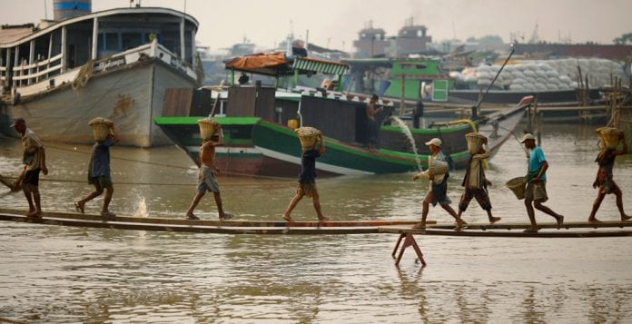 yangon river reuters