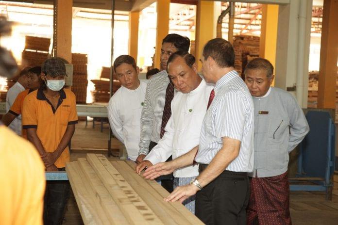 Concorde saw mill timber logging Myanmar opening (1)