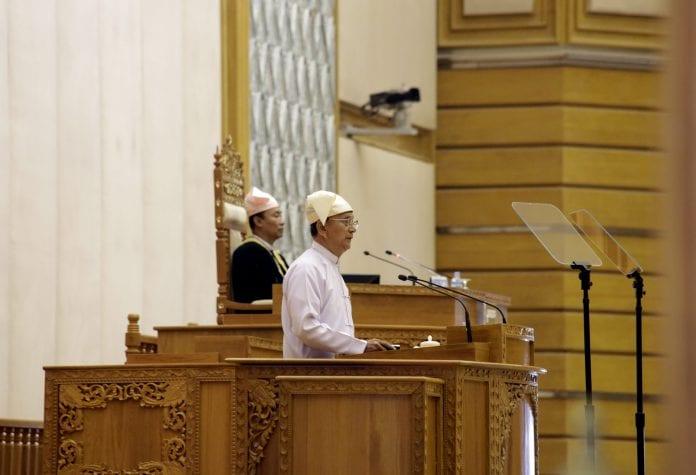 Parliament Myanmar thein sein suu kyi (3)