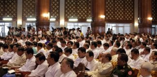 President U thein sein Tay Za Meet business (1)