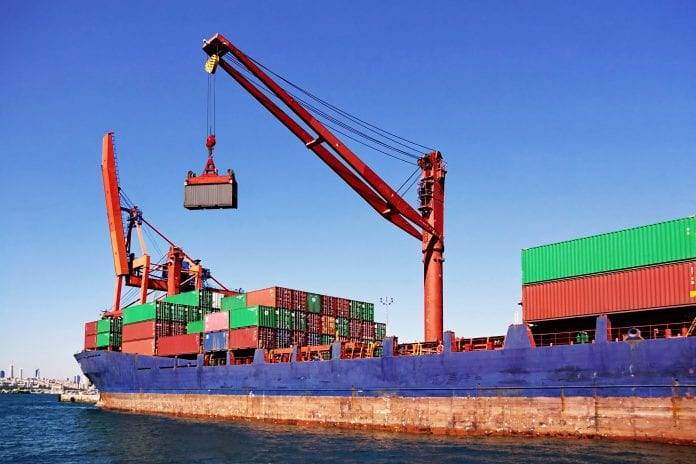 Shipping export import trade