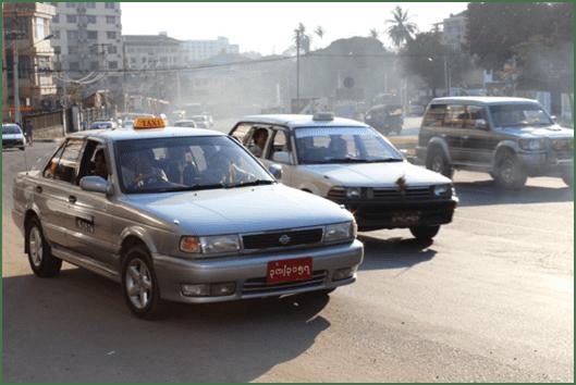 Taxi Yangon