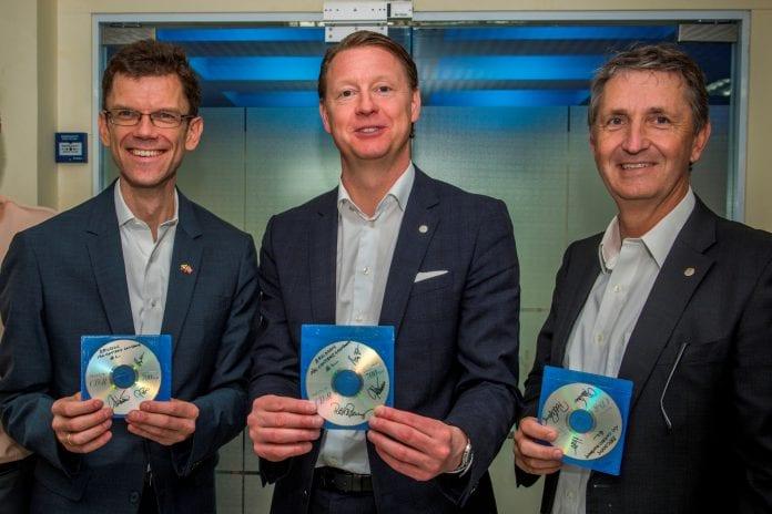 Telenor Contract Petter, Hans, Jonte__Image Credit to Ericsson